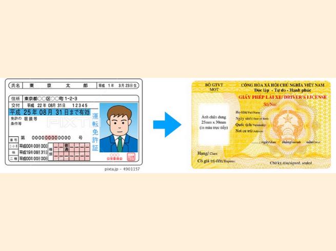 Đổi bằng lái xe Hồng Kông sang Việt Nam
