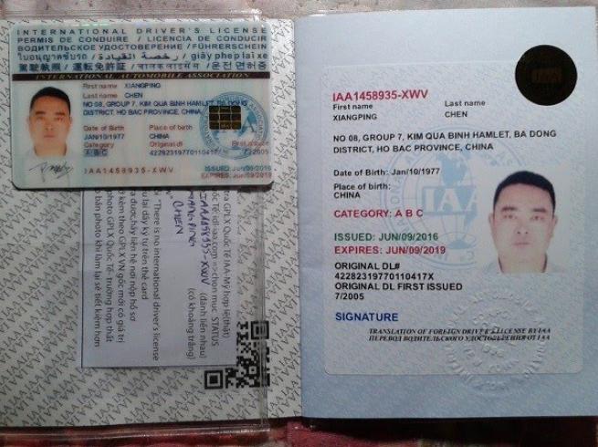 Đổi bằng lái xe Trung Quốc sang Việt Nam