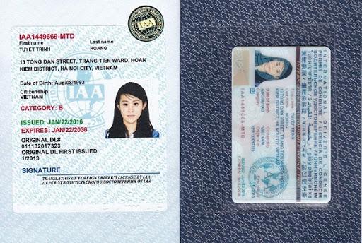 Điều kiện đổi bằng lái xe quốc tế sở cấp