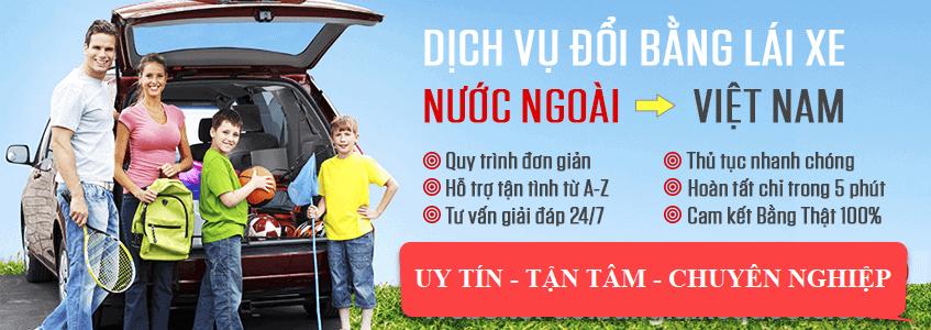 Đổi bằng lái xe Tây Ban Nha sang Việt Nam