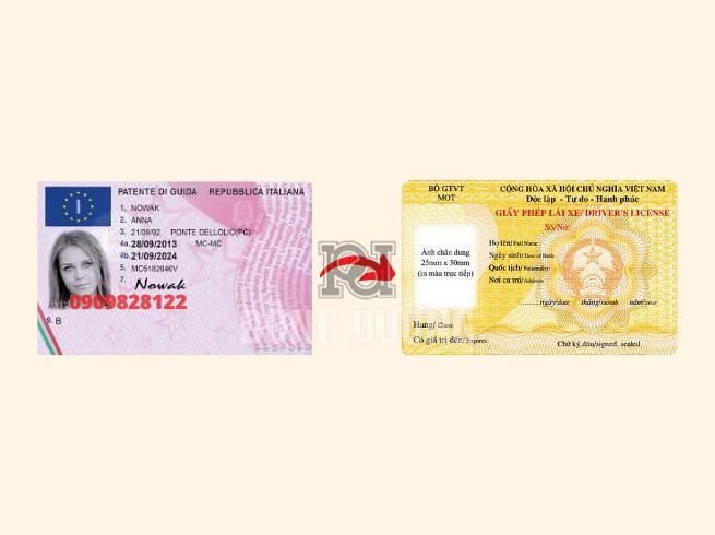 Đổi bằng lái xe Thụy Sĩ sang Việt Nam
