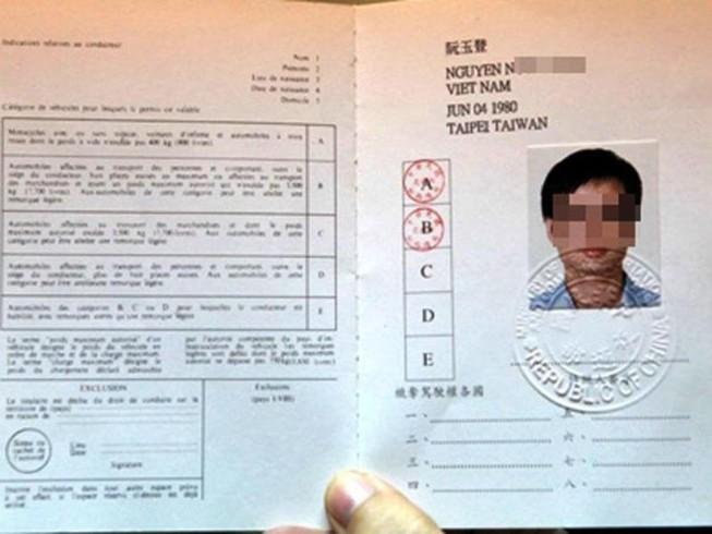 giấy phép lái xe quốc tế việt nam